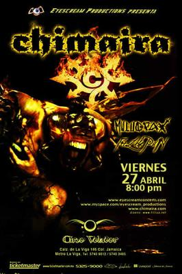 Chimaira en Mexico